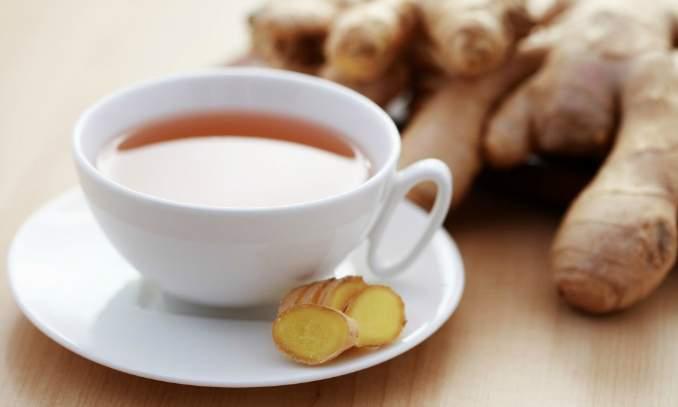 chá de gengibre enjoos