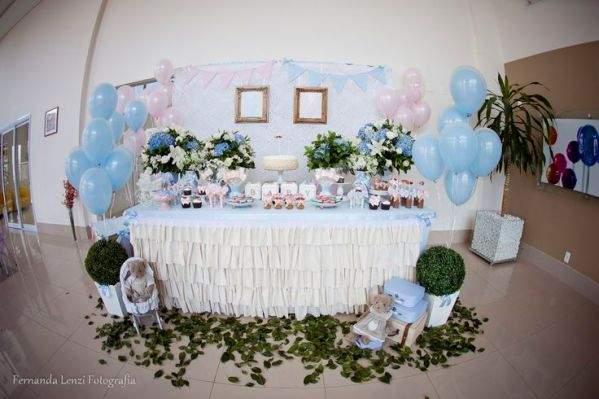 chá revelação do  bebê - decoração 03