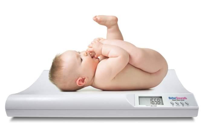 peso do bebe
