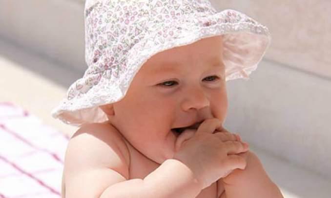 Banho de sol -Todo bebê precisa