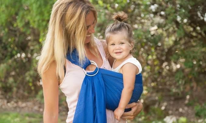 Dicas de presentes para os recém nascidos  - Baby sling