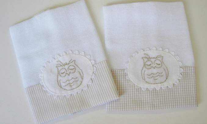 Dicas de presentes para os recém nascidos  - Fraldas de pano e toalhas