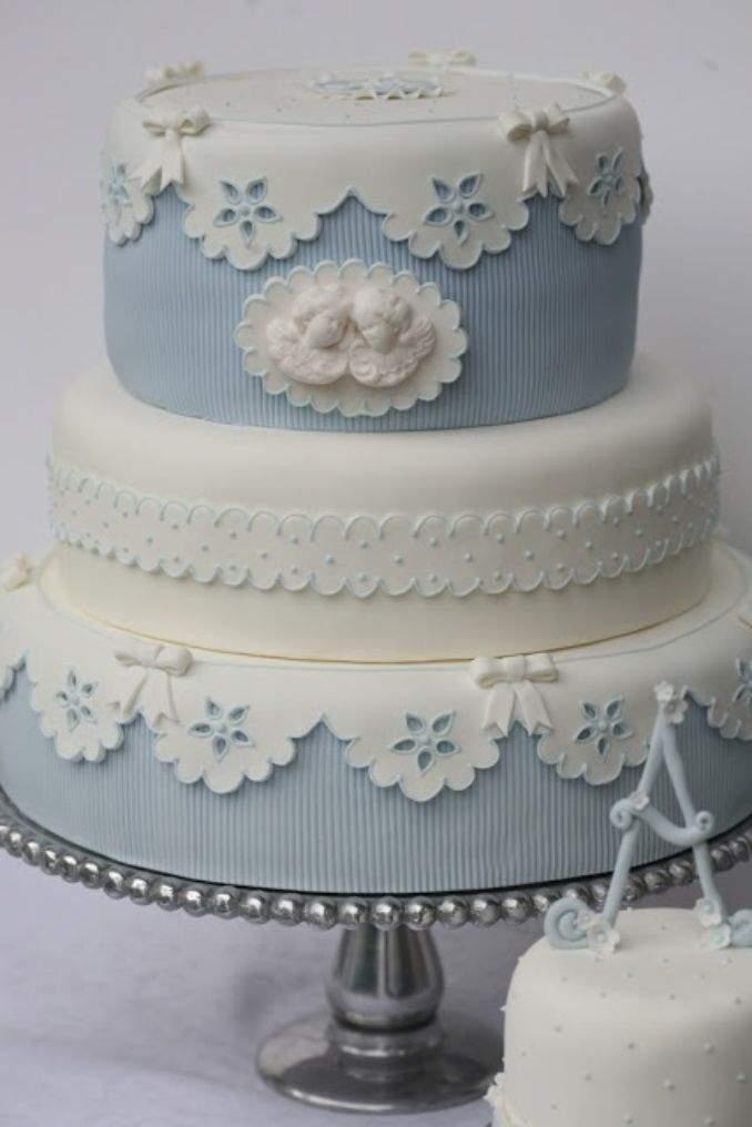 bolo de batizado 12