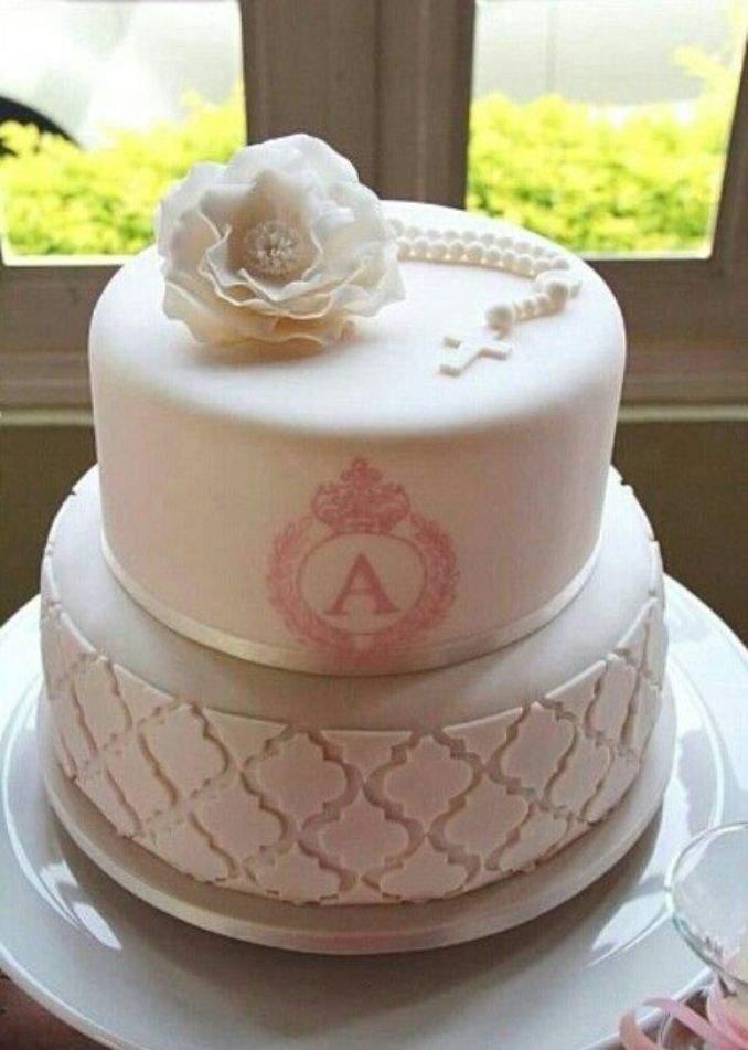 bolo de batizado 18