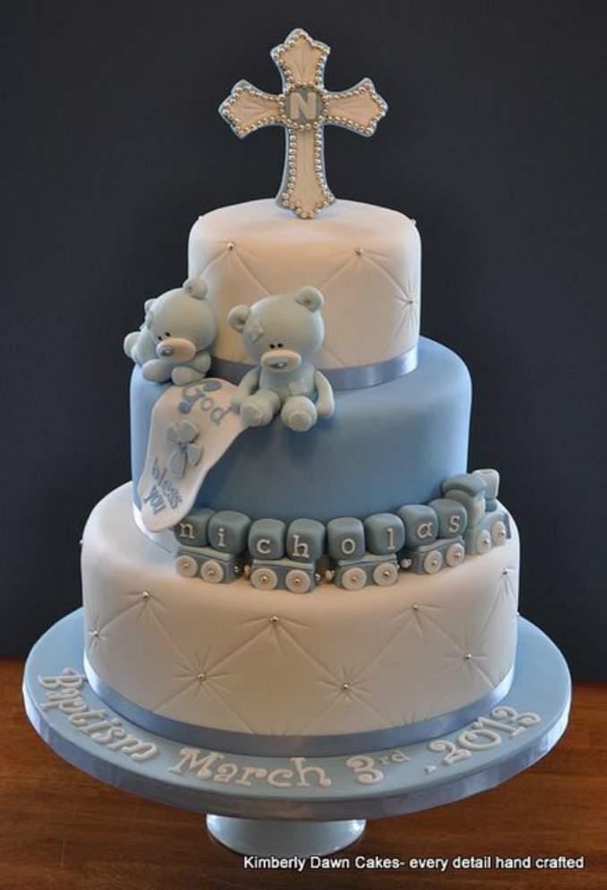 bolo de batizado 22
