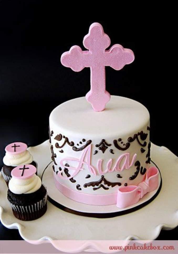 bolo de batizado 25