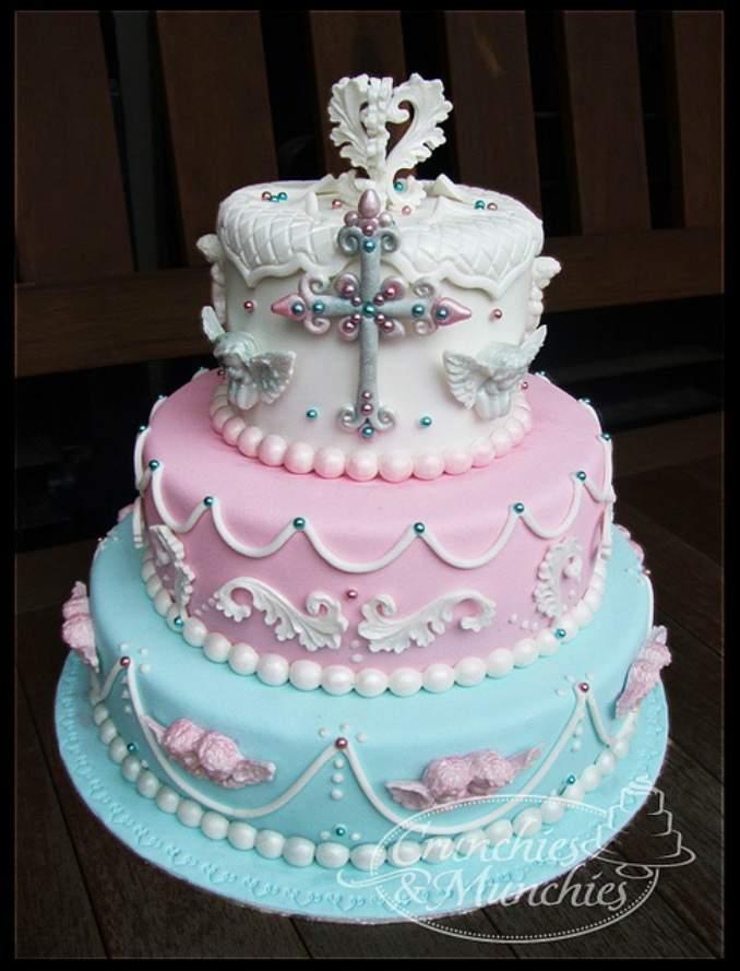 bolo de batizado 26