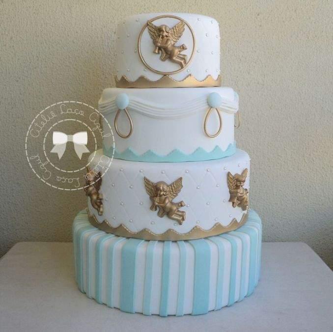 bolo de batizado 45