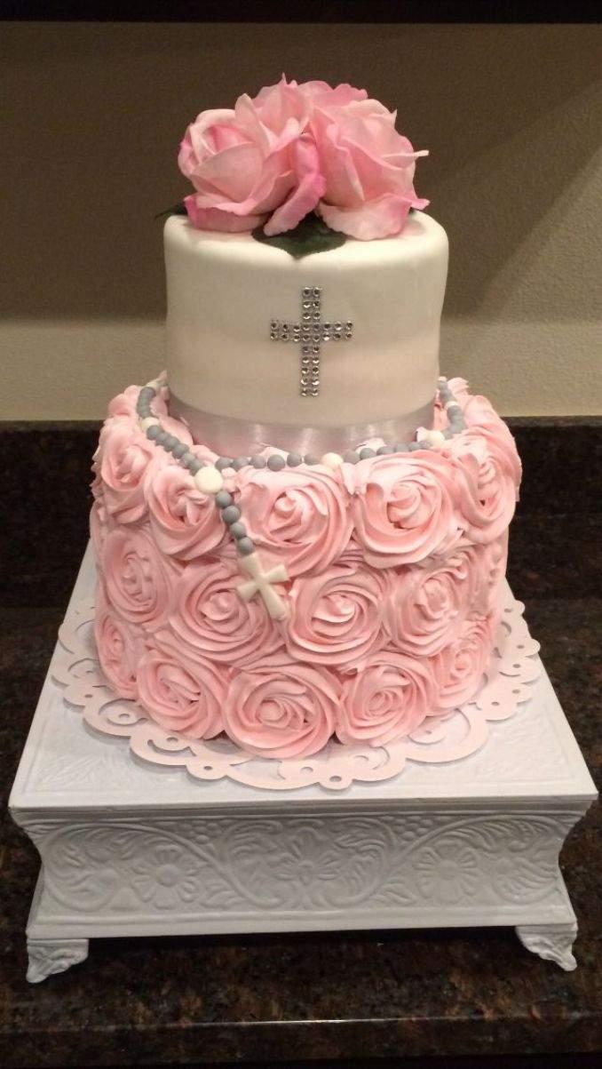 bolo de batizado 48