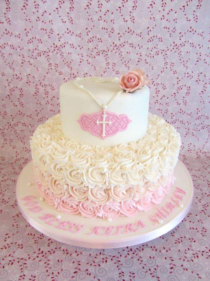 bolo de batizado 49