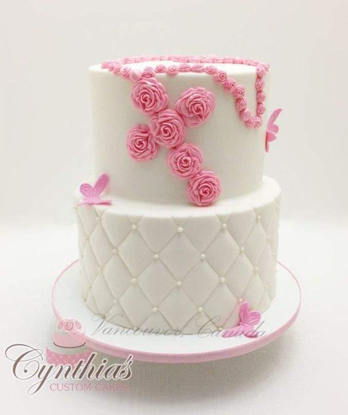 bolo de batizado 52