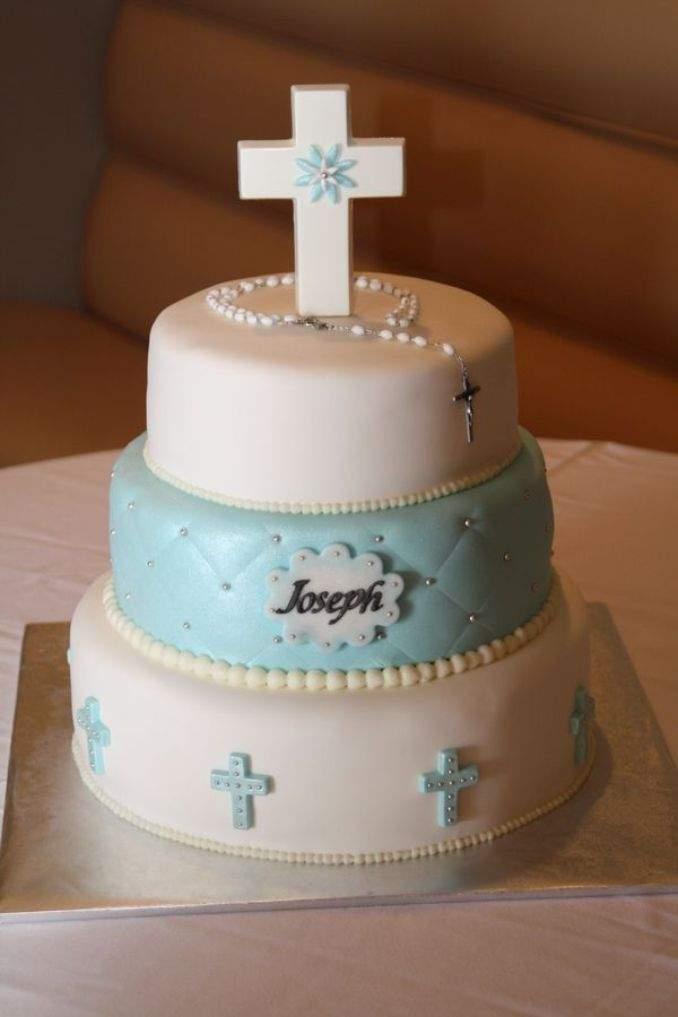 bolo de batizado 61