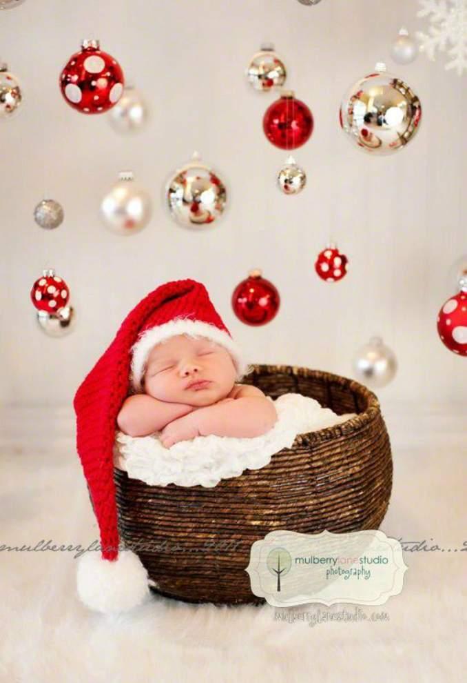 Fotos de Natal para você fazer com seu filho - 01