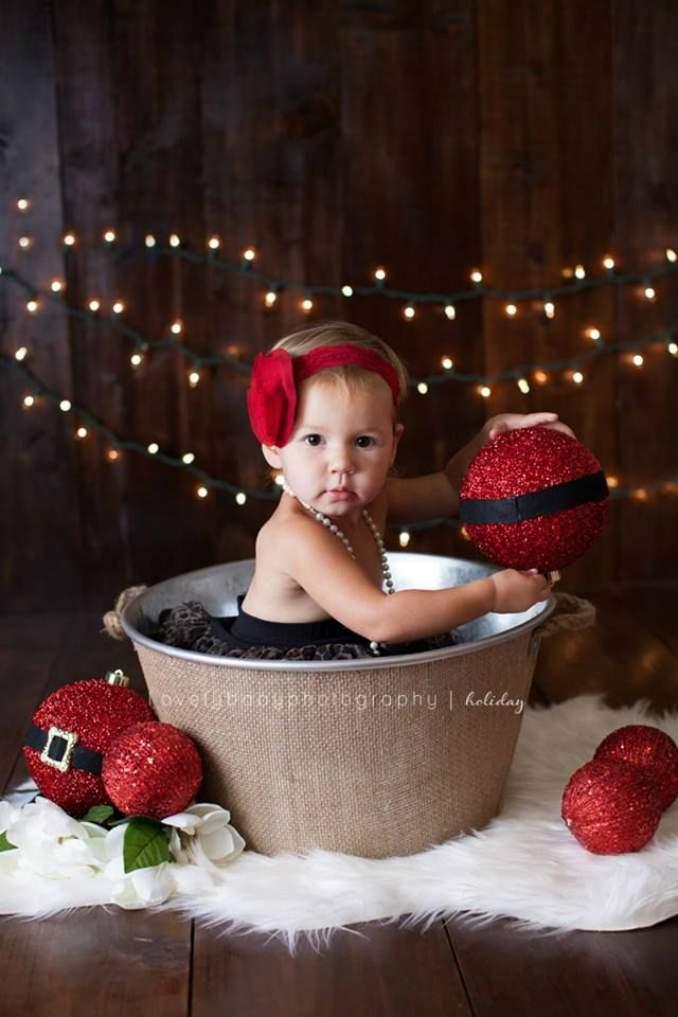 Fotos de Natal para você fazer com seu filho - 02