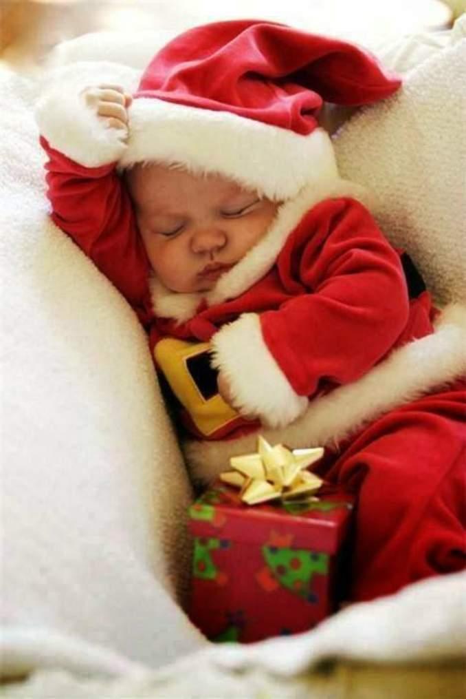 Fotos de Natal para você fazer com seu filho - 05