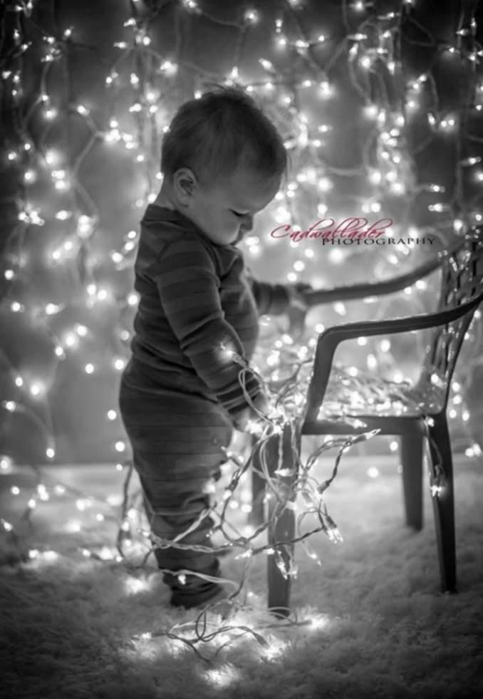 Fotos de Natal para você fazer com seu filho - 08