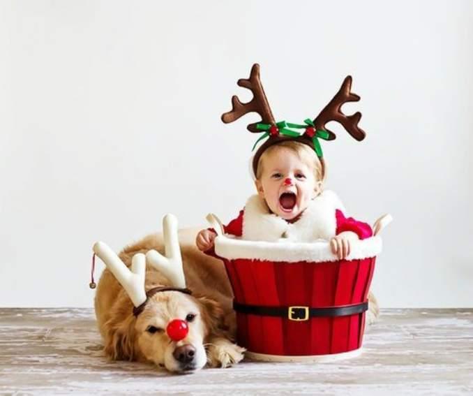 Fotos de Natal para você fazer com seu filho - 19