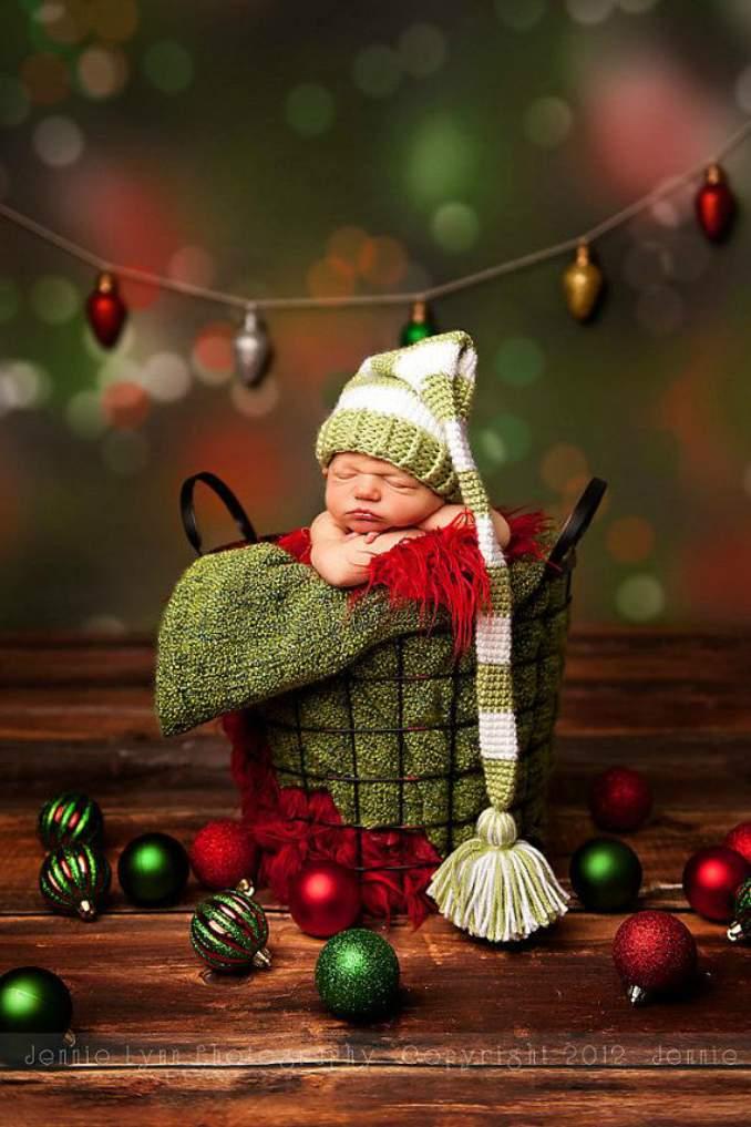 Fotos de Natal para você fazer com seu filho - 20